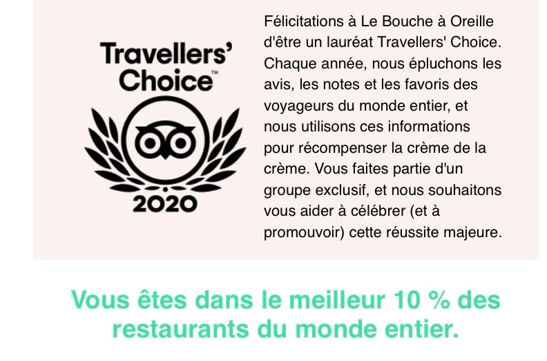 Traveller's choice 2020